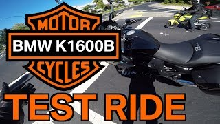 2. FIRST 2018 BMW K1600B 'BAGGER' TEST RIDE AND REVIEW -  BMW Motorcycle Reviews