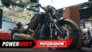 8. 2019 Harley Davidson FXDR114 : America's answer to the XDiavel : Intermot 2018 : Powerdrift