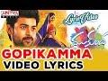 Gopikamma Video Song With Lyrics II Mukunda Movie II Varun Tej, Pooja Hegde