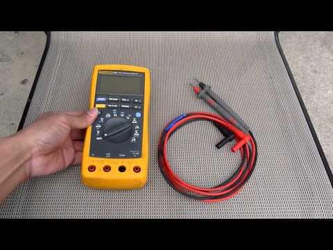 Fluke 187 True RMS Multimeter with Leads