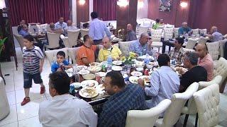 إفطار جماعي بتنظيم من نقابة أصحاب المشاغل بطولكرم في مطعم تنورين بالمدينة