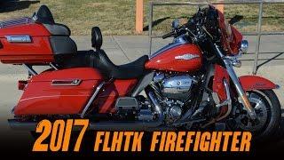 7. 2017 Harley-Davidson® FLHTK - Ultra Limited Firefighter Edition