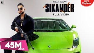 Video Sikander : Karan Aujla (Title Track) Guri | Kartar Cheema | Latest Punjabi Songs 2019 download in MP3, 3GP, MP4, WEBM, AVI, FLV January 2017