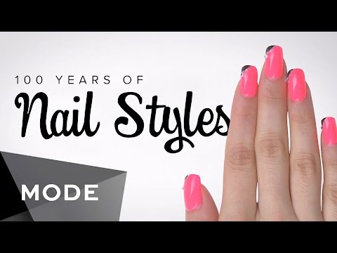 100 Years of Nail Fashion in 2 Minutes