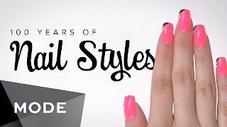 بالفيديو.. كيف تطورت موضة الأظافر خلال 100 عام؟