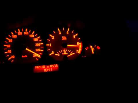 BMW 325i e46 acceleration