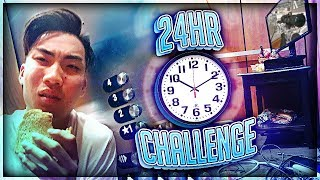 STUCK IN ELEVATOR FOR 24 HOURS CHALLENGE *ALMOST DIED*