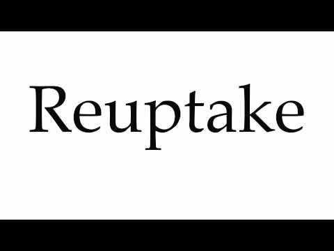 How to Pronounce Reuptake