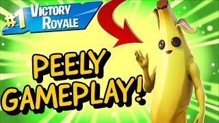 PEELY Skin Gameplay In Fortnite Battle Royale