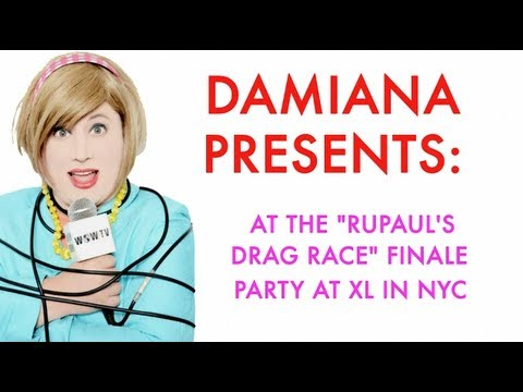 drag race - Lady reporter Damiana Garcia had a marvelous night at Logo's
