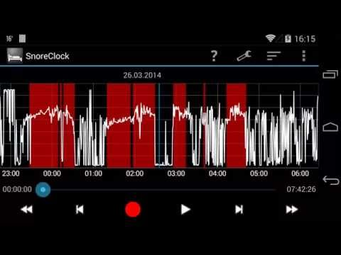 Video of SnoreClock - Do you snore?