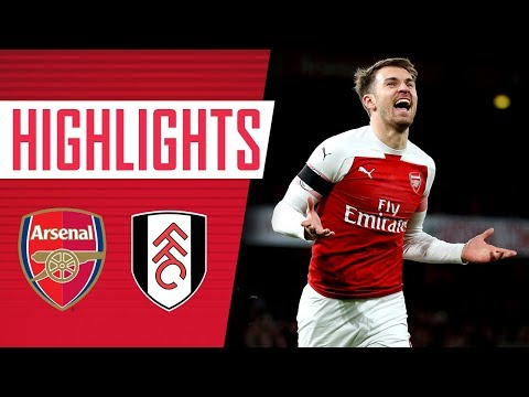Back to winning ways   Arsenal 4-1 Fulham   Goals and highlights