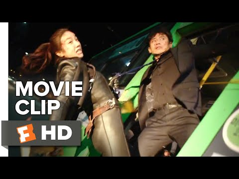The Villainess Movie Clip - Bus Fight (2017) | Movieclips Indie