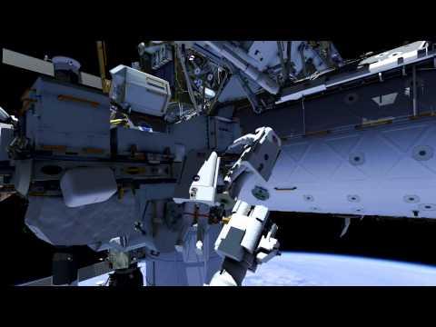 Uzay istasyonunda nasıl tamirat yapılır?
