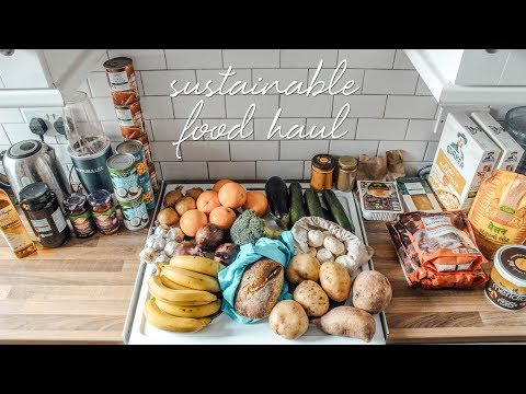 Zero Waste Grocery Shopping Tips + Haul