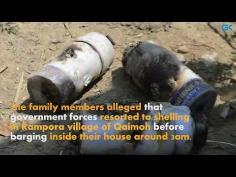 Shutdown in Kulgam areas against thrashing of militant's family members
