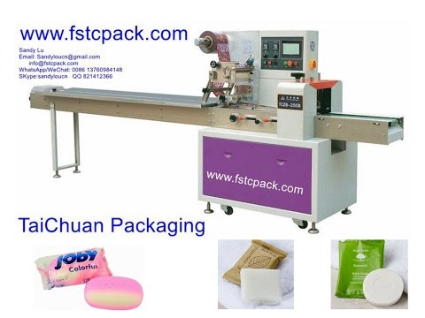 Hotel Soap Packing Machine , Packaging Machinery For Hotel Soap , Toilet Soap Packing Machine