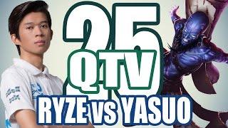 Stream QTV - RYZE vs YASUO #25 (24/11), liên minh huyền thoại, lmht, lol