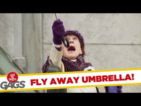 Fly Away Umbrella! - Youtube