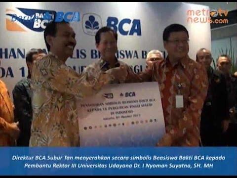 BCA Berikan Beasiswa pada 16 PTN di Indonesia