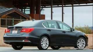 2014 Acura RLX Interiors And Exteriors Looks