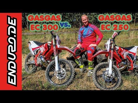 GasGas EC 250 vs. EC 300 2019