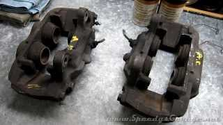 6. How To Rebuild Brake Calipers