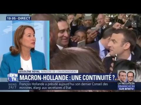 Ségolène Royal fait du pied à Emmanuel Macron