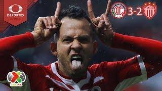 Video Los Diablos sorprenden a los Rayos | Toluca 3 - 2 Necaxa | Apertura 2018 - J10 | Televisa Deportes MP3, 3GP, MP4, WEBM, AVI, FLV April 2019