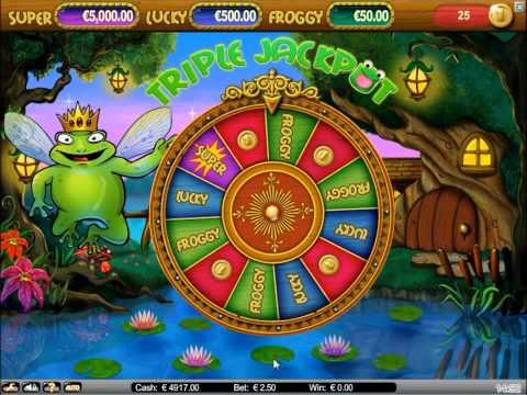 Super Lucky Frog Jackpot