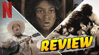 Netflix Movie Review Roundup: Mowgli, Roma, The Ballad of Buster Scruggs by Clevver Movies