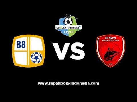 Barito Putera VS PSM Makassar 2-2 (29/10/2017) all goal and highlight Liga 1
