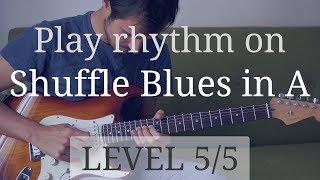 Entraînez-vous à m'accompagner sur ce solo en me suivant et en regardant la grille d'accord si nécessaire. Pour apprendre à accompagner sur un blues (cours de 55 min) : https://www.guitare-improvisation.com/video_accompagner-sur-un-blues.phpEt pour apprendre à improviser c'est ici (cours de 74 min!) : https://www.guitare-improvisation.com/video_mon-premier-blues.phpAinsi que sur les nombreuses vidéos pédagogiques disponibles sur cette chaine Youtube.Et le playback d'un blues ternaire en La, pour vous entraîner à accompagner en même temps : https://youtu.be/Z3euxRLOQecNiveau 1 // solo enregistré sur une pulsation et très marqué sur le temps, plutôt facile à suivreNiveau 2 // solo enregistré sur une pulsation et moins marqué sur le tempsNiveau 3 // solo enregistré sur une pulsation et peu marqué sur le temps, pas facile à suivre (et la grille ne défile pas)Niveau 4 // solo enregistré sans pulsation et plutôt marqué sur le temps, plutôt difficile à suivreNiveau 5 // solo enregistré sans pulsation et peu marqué sur le temps, difficile à suivreSi mes vidéos vous ont fait progresser pensez à me soutenir en faisant un don ici : https://goo.gl/B9eXzk