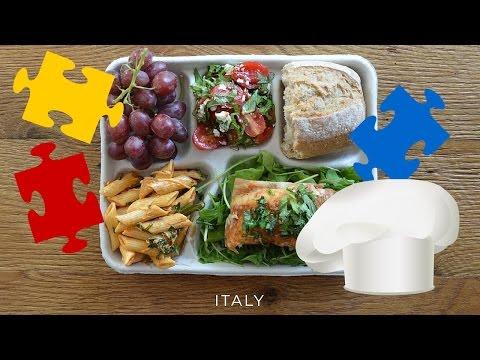 cosa danno da mangiare ai bambini nelle mense scolastiche del mondo?
