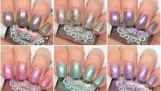 READ THIS, I BEG YOU Today I have swatches of two new collections from Glitter Daze! Check out Glitter Daze here: http://shopglitterdaze.com/ Polishes Mentio...