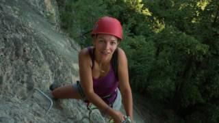 Neuer Klettersteig am Känzelefelsen