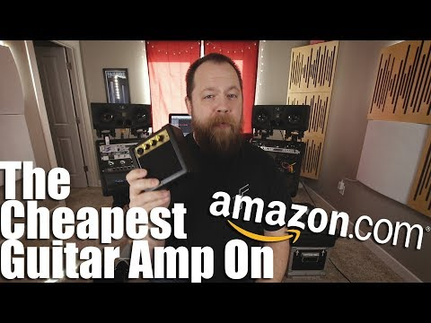 The Cheapest: Guitar Amp On Amazon