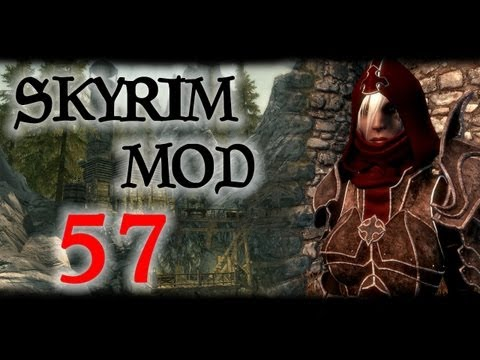 Skyrim: Обзор модов #57 - Dynamic Vampire Appearance, Waterfall Sky Lodge, Demon Hunter Armor
