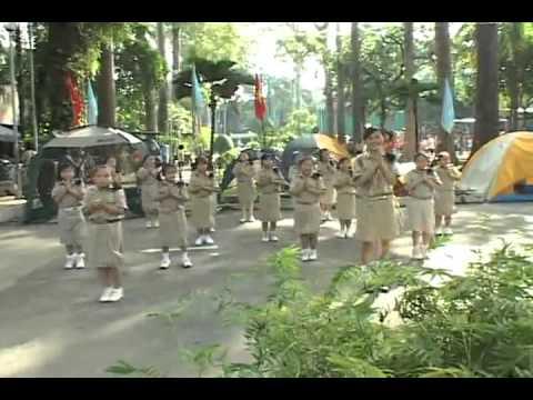 Múa dân vũ - Con Cào Cào - Việt Nam