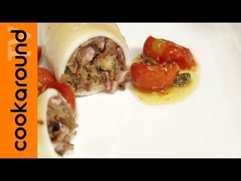 calamari ripieni - ricetta