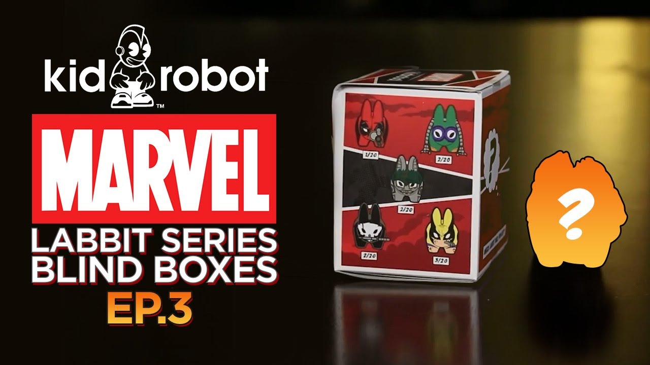 Marvel Labbit Series 1 Blind Boxes – Ep. 3