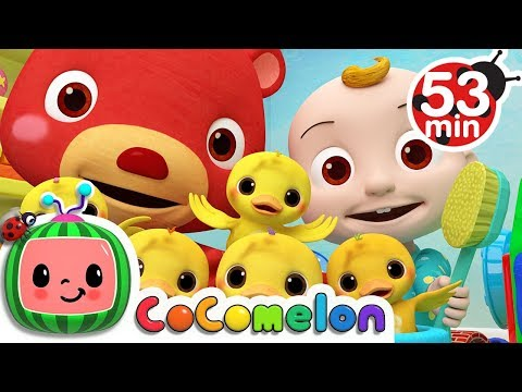 The Duck Hide And Seek Song | +more Nursery Rhymes & Kids Songs - Cocomelon