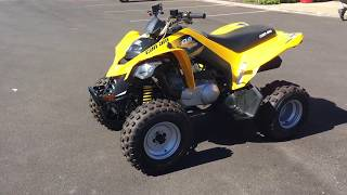 10. 2017 CAN-AM DS 250 U022904