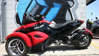 9. 2009 Can-Am Spyder SM5 Motorcycle For Sale