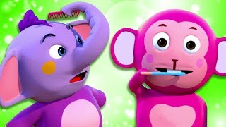 Brush Your Teeth Song | 3D Rhymes For Children With Lyrics | All Babies Channel