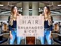 GET MY HAIR BALAYAGED & CUT WITH ME | Mia Mia Mine