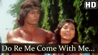 Chalo Mere Saath Chalo - Kimi Katkar - Tarzan - Old Hindi Songs - Bappi Lahiri - Sharon Prabhakar