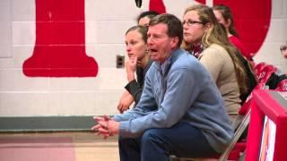 St. Bernard head coach Mike Nystrom