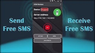 GSM Modem SMS -  Free SMS Gateway  -  Android App