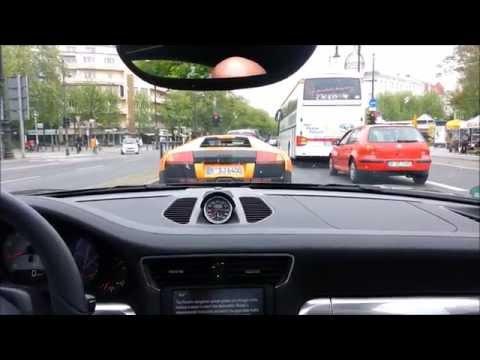 porsche 911 carrera 4s sfreccia a 304 km/h